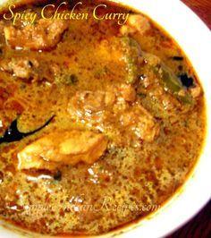 South Indian Spicy Chicken Curry (Chettinad Chicken Kulambu)