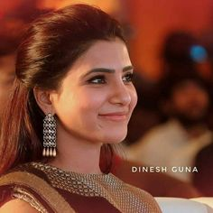 Samantha In Saree, Samantha Ruth, Samantha Images, Saree Hairstyles, Front Hair Styles, She Is Gorgeous, Beautiful, Babe, Girls World