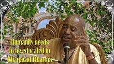 Humanity needs to be educated in Bhagavatam Dharma (video) Srimad Bhagavatam Class by H.H.Devamrita Swami in ISKCON Vrindavan, …