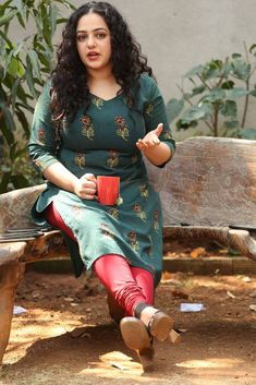 Nithya Menen Photos At Awe Movie Nithya Menen, South Indian Actress, South Actress, Beauty Full Girl, Beauty Women, Beautiful Girl Image, Most Beautiful Indian Actress, Indian Models, Indian Celebrities