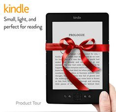 Today only and while supplies last, you can get the Amazon's Kindle for $49!