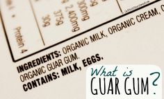 "What is Guar Gum? - ""In Asia, guar beans are used as a vegetable for human consumption; the crop is also grown for cattle feed, and used as a green manure crop. In the United States, highly refined guar gum is used as a stiffener in soft ice cream, a stabilizer for cheeses, instant puddings and whipped cream substitutes, and as a meat binder. Most of the crop in the US is grown for a lower grade of guar gum, which is used in cloth and paper manufacturing, oil well drilling muds, explosives…"