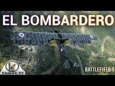 Battlefield 1 El Bombardero al Detalle, Como piloto y Artillero Delanter...