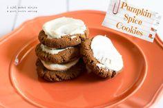 Pumpkin Spice Cookies (gluten-free & grain-free)