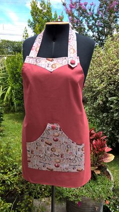 Small Sewing Projects, Sewing Projects For Beginners, Sewing Hacks, Sewing Aprons, Sewing Clothes, Crochet Bookmark Pattern, Couture Sewing Techniques, Apron Tutorial, Kids Dress Wear