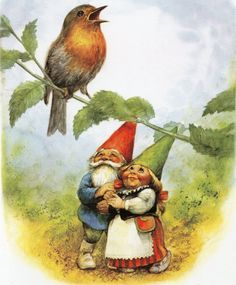Your place to buy and sell all things handmade Kunstdruck von Rien Poortvliet Gnome Elf David von CuteEyeCatchers, € Woodland Creatures, Magical Creatures, Fairy Land, Fairy Tales, Troll, David The Gnome, Illustration Inspiration, Kobold, Vintage Art Prints