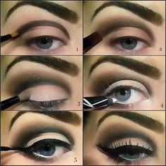 Neutral cut crease eye makeup tutorial #evatornadoblog
