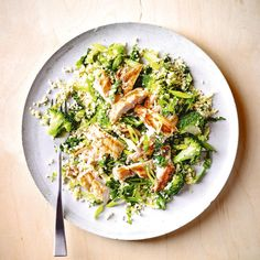 Lemony Bulgar Wheat Salad with Chicken, a delicious recipe in the new M&S app.