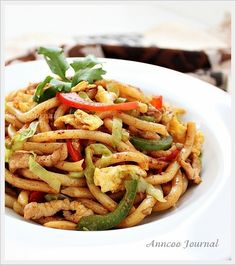 Seah's Spices ~ Fried Udon | Anncoo Journal - Come for Quick and Easy Recipes