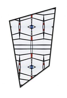 JE BAAK|HADA CONTEMPORARY | Petitio Principii 002 | Giclée prints in irregular square frames with glass | 90 x 150 cm | 2012