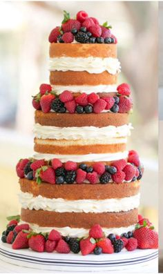 how much wedding cake for 200 guests white and blue wedding cake with fresh fruit 15551