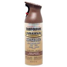Or Aged Copper...can't decide     Rust-Oleum Universal 12-oz Aged Copper Spray Paint