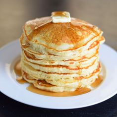 The use of real ingredients and adhering to a few restaurant secrets will produce a light and fluffy pancake that no box can ever replicate.