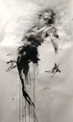 Dance, ink on paper, ewa hauton dance blackandwhite ink painting … # - therezepte sites Fantasy Kunst, Fantasy Art, Figure Painting, Painting & Drawing, Drawing Tips, Body Painting, Painting Inspiration, Art Inspo, Collage Kunst