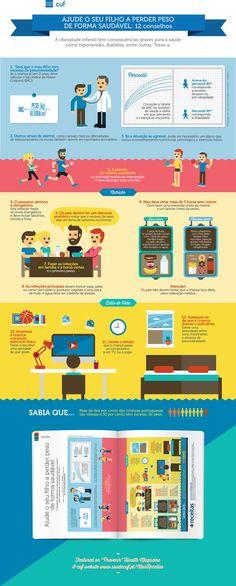 Infografia Obesidade Infantil on Behance