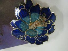 Vintage Flower Brooch by PetitDepannier on Etsy, $12.00