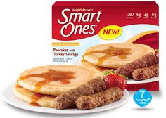 Weight Watchers® Smart Ones® Pancakes with Turkey Sausage