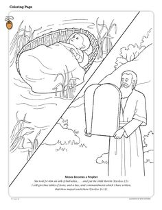 A coloring page for children of