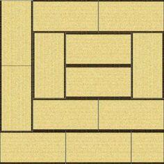 一般の家ではめったに見ることができない12.5畳の祝儀敷き。