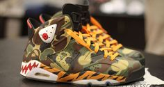 "Air Jordan 6 ""BAPE"" Custom 