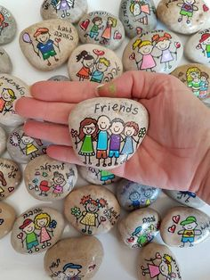 Inspirational gifts, Affirmation Stones, wedding favors, pai … – About Wedding Dresses Rock Painting Ideas Easy, Rock Painting Designs, Paint Designs, Pebble Painting, Pebble Art, Stone Painting, Stone Crafts, Rock Crafts, Arts And Crafts