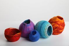 felted vessels