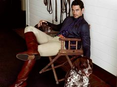 David Gandy for Massimo Dutti: The Equestrian Collection F/W 2013. Photographed by Hunter & Gatti