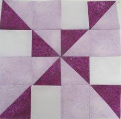 Spinner quilt block