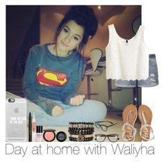 """""""Day At Home With Waliyha"""" by hazzgirl03 ❤ liked on Polyvore"""