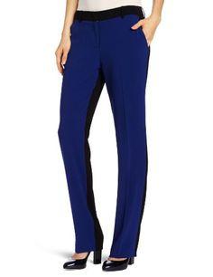 BCBGMAXAZRIA Women`s Monique Color Blocked Slim Pant $82.50