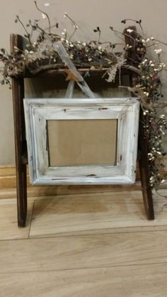 Ladder front with a 5 x 7 frame