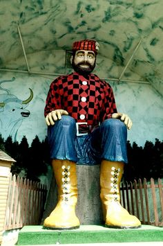 Paul Bunyan! Visited as a child, worked here as a teen, and take my kids every summer!