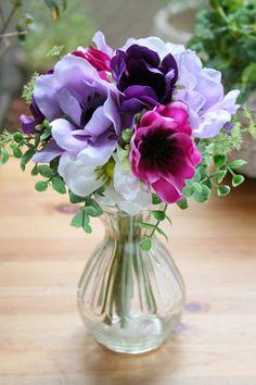 アネモネ Flowers Nature, Green Flowers, My Flower, Beautiful Flowers, Cactus Flower, Exotic Flowers, Flowers Garden, Yellow Roses, Pink Roses
