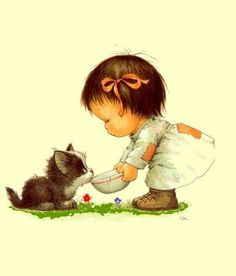 silvitablanco … – Baby pictures and ideas for baby care – cute things – … www.silvitablanco … – Baby pictures and ideas for baby care – cute things – Art Anime Fille, Anime Art Girl, Illustration Mignonne, Cute Illustration, Cute Images, Cute Pictures, Baby Pictures, Special Pictures, Cartoon Mignon