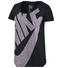 37b7dfdccbaa5b Nike logo t shirt Nike logo t shirt. Short sleeve. Polyester rayon
