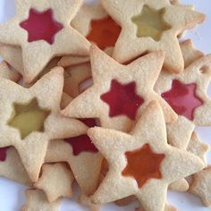 Stainted Glass Cookies / Glas in Lood koekjes - I am Cooking with Love