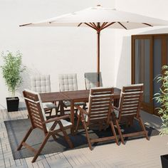 Pplar Drop Leaf Table Outdoor Ikea Outdoor Table And Chairs With Umbrella - Mainstays Albany Lane 6 Piece Folding Dining Set Multiple Colors Outdoor Table And Chairs With Umbrella Outdoor Table Chair Umbrella Max Outdoor Table And Outdoor Tables And Chairs, Outdoor Dining Furniture, New Furniture, Garden Furniture, Discount Furniture, Ikea Outdoor, Outdoor Decor, Ikea Patio, Plein Air Ikea