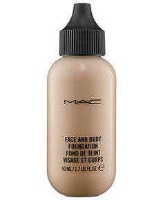 MAC Face and Body Foundation - Makeup - Beauty - Macy's - Also good for dry skin