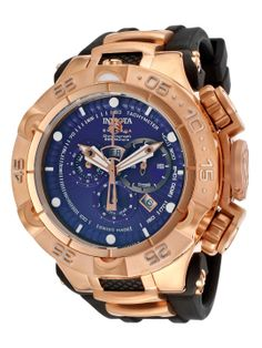 Men's Subaqua 18K Gold Plated Stainless Steel Watch by Invicta at Gilt