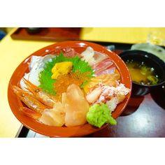 舌鼓ちゅう。 #福井県 #海鮮丼