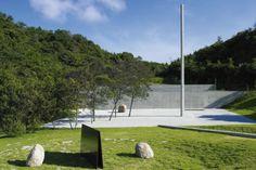 Vista del Lee Ufan Museum