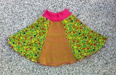 Kinderrock Rock, Gr. 92/98, Jersey, Sternchen von kleine Kuschelrobbe auf DaWanda.com