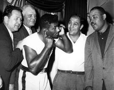 Joe Louis, Rocky Marciano, Jimmy Braddock and Floyd Patterson