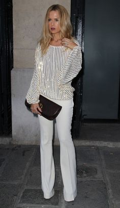Rachel Zoe Photo - Ciara at the Jean-Paul Gaultier Fashion Show in Paris 2