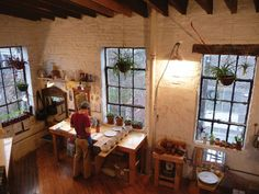 home pottery studio | ... Discuss the Challenges and Rewards of Sharing a Studio and Profession
