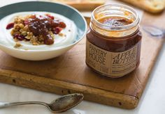 Pantry House Small Batch, Local Harvest Hand-crafted Mustards, Jams, Sauces and Pickles. Package Design, Jars and Brand Identity