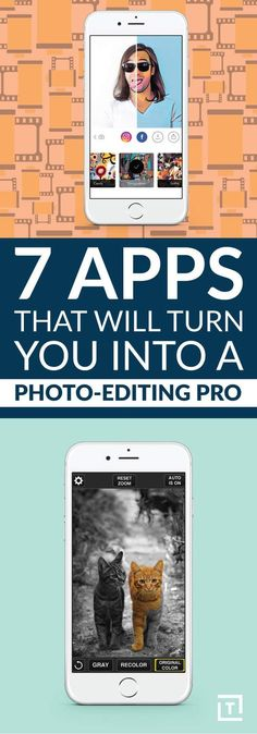 Apps That Will Turn You Into a Photo-Editing Pro