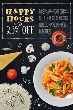 Pasta Restaurant Free Flyer Template…                                                                                                                                                                                 Mehr