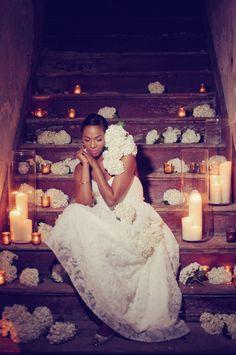gorgeous bridal shoot idea, photo by Alea Moore http://ruffledblog.com/flower-guide-by-alea-moore-photography-and-boukates #brides #weddingideas