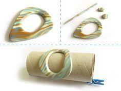 FO and Tutorial: Polymer Clay Shawl Pin   Eskimimi Makes